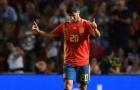 Marco Asensio: 'Kèo trái' trác tuyệt của La Roja
