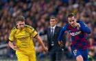 Nhìn đồng đội đau đớn, Messi có cử chỉ rất xúc động