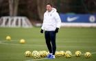 Vừa hướng dẫn học trò, Lampard vừa tái hiện hình ảnh hào hoa ngày nào