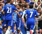 Thảm sát Burnley, Chelsea tạm thời dẫn đầu Premier League