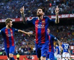 Enrique ra đi, nhưng 'kỷ nguyên Messi' vẫn tiếp tục