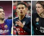 Top 15 tiền vệ đa năng tranh chức 'con thoi vàng' châu Âu