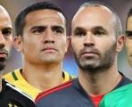 4 'anh hùng dân tộc' có kỳ World Cup cuối cùng trên đất Nga