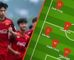 Đội hình ra sân U23 Việt Nam vs U23 Brunei: Quân Hà Nội áp đảo, chỉ có 1 cái tên HAGL