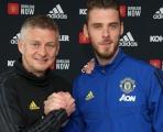 Nhận lương kỷ lục, De Gea ký điều khoản có '1-0-2' với Man Utd