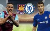 TRỰC TIẾP West Ham 0-0 Chelsea: Willian thay thế Pedro (H1)