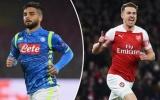 TRỰC TIẾP Napoli vs Arsenal: Song tấu Aubameyang, Lacazette xuất trận