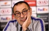 Maurizio Sarri: 'Hãy sa thải tôi nếu không hài lòng với mùa giải này'