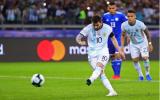 Messi ghi bàn, Armani cứu thua 11m; Argentina nhọc nhằn có 1 điểm trước Paraguay