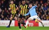 TRỰC TIẾP Man City vs Watford: 'Quái thú' Mendy tái xuất, Aguero đá chính