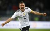 Lập siêu phẩm nã đại bác, Podolski giúp Đức đánh bại tuyển Anh trong ngày chia tay