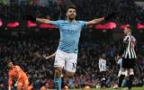 Kun Aguero lập hattrick, Man City nhấn chìm Newcastle trên sân nhà