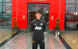 Tân binh có mặt ở Carrington, coi như ký HĐ với Man Utd