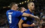 Slimani tỏa sáng, Leicester thắng chật vật trước Porto