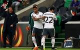 5 điểm nhấn St-Etienne 0-1 M.U: Bailly ăn thẻ đỏ, Mourinho lo sốt vó vì Mkhitaryan