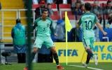Ronaldo trở lại, Bồ Đào Nha có 3 điểm trọn vẹn trước Nga