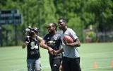 Paul Pogba tự tin so tài với sao bóng bầu dục Washington Redskins