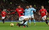 Sau vòng 16 Premier League: M.U cúi đầu, Man City cô đơn trên đỉnh