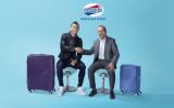 Cristiano Ronaldo làm đại sứ thương hiệu American Tourister năm 2018
