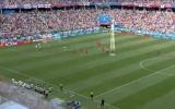 HÀI HƯỚC: Cầu thủ Panama lén lút 'làm trò' khi tuyển Anh đang ăn mừng