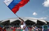 TRỰC TIẾP Uruguay vs Nga: Nga cất Golovin, Uruguay giữ nguyên song sát Suarez - Cavani
