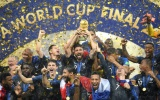 Nã 4 bàn vào lưới Croatia, Pháp vô địch World Cup lần thứ 2 sau 20 năm
