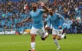 Tân binh tỏa sáng, Man City hủy diệt Cardiff với 5 bàn không gỡ