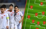 Đội hình ra sân U23 Viêt Nam vs U23 Thái Lan: Lần đầu cho 'tiểu Inzaghi'