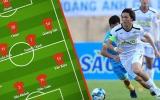 Đội hình tiêu biểu lượt đi V-League 2019: 'Tiểu Mozart', cựu sao U23 Nigeria
