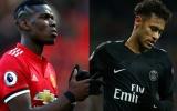 Điên rồ! Man Utd từ chối 2 thỏa thuận khủng, có Neymar và Pogba