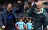 Man City nguy cơ sụp đổ! Pep muốn trở lại nhưng Lampard không... cho phép