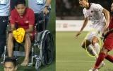 Đã rõ mức độ chấn thương của 'Messi Indo' sau pha va chạm với Đoàn Văn Hậu