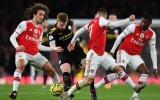 De Bruyne 'vờn' Arsenal và những khoảnh khắc ấn tượng nhất vòng 17 NHA