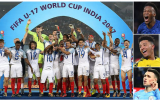 11 ngôi sao đá chính của U17 Anh tại VCK World Cup giờ ra sao?