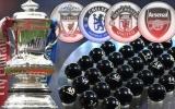 CHÍNH THỨC! Bốc thăm vòng 5 FA Cup: Viễn cảnh bùng cháy ở tứ kết
