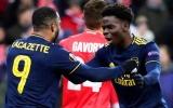 18 tuổi và chỉ đá 4 trận, 'báu vật' Arsenal đã 'tàn phá' Europa League