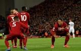 Hay lại còn hên, Liverpool ngược dòng kịch tính trên sân nhà