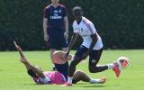 Premier League trở lại, Arsenal máu lửa tập luyện cho trận Man City