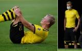 Haaland đem đến hung tin cho Dortmund