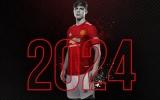 CHÍNH THỨC! Man United khóa chân 'hy vọng biên trái' tới năm 2024