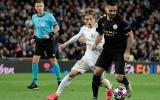 TRỰC TIẾP Man City - Real Madrid: Los Blancos tựa vào 'chân tường'