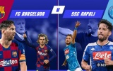 TRỰC TIẾP Barcelona vs Napoli (1-1): Đại chiến tại Camp Nou