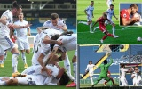 Leeds United lại gây sốt, tạo nên trận cầu điên rồ với 7 bàn thắng