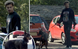 Sợ cướp tấn công, Alli mua hẳn chó nghiệp vụ