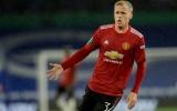 Van de Beek: 'Thật tuyệt khi được chơi bóng một chạm với anh ấy'