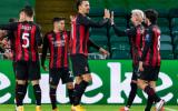 Ibrahimovic im tiếng trong ngày AC Milan thắng nhẹ nhàng 'đại gia' Scotland