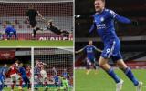 Thay người thần thánh, Leicester hạ gục Arsenal ngay tại Emirates