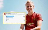 Solskjaer đau đầu vì Van de Beek, các CĐV Man Utd đã tìm ra câu trả lời