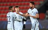 Chấm điểm Chelsea trước Rennes: 'Đầu vàng' Giroud, 'nhện đen' rực sáng