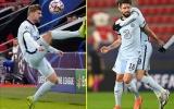 """Góc Chelsea: Werner – Giroud, """"cơn đau đầu"""" mới của Lampard?"""